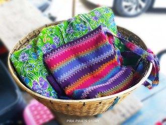 วัดวังก์วิเวการาม สังขละบุรี ผ้าถุง ผ้าไทย ผ้าทอ ผ้ามอญ ผ้าพม่า