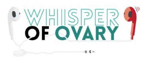 Whisper of Ovary มะเร็งรังไข่ วันมะเร็งรังไข่สากล รังไข่ โรคมะเร็ง รักษามะเร็ง ป้องกันมะเร็ง