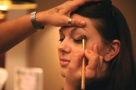 เปลือกตาอักเสบ ล้างหน้า แต่งหน้า Blepharitis eyes Inflammation inflame hurt makeup pira pira story eyes shadow