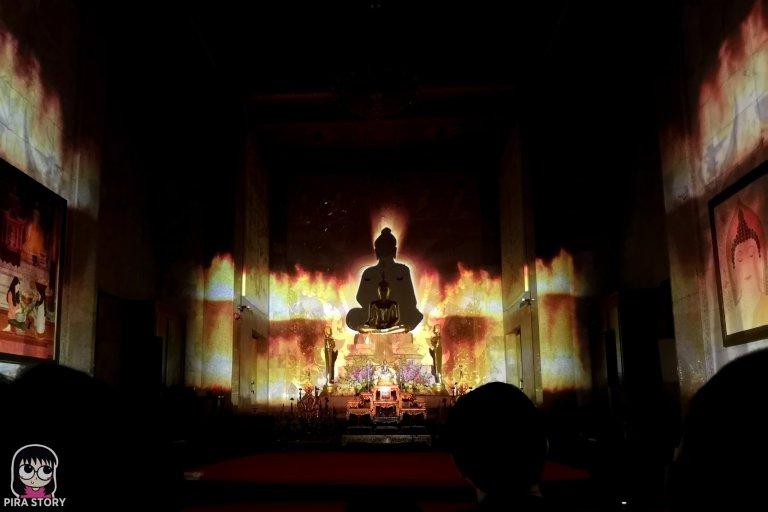10 Bodhi Theater โพธิ เธียเตอร์ งานศิลปะดิจิทัล วัดสุทธิวราราม เจริญกรุง Pira Story BTS สะพานตากสิน