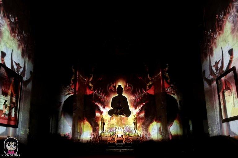 11 Bodhi Theater โพธิ เธียเตอร์ งานศิลปะดิจิทัล วัดสุทธิวราราม เจริญกรุง Pira Story BTS สะพานตากสิน
