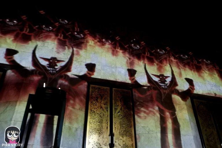 12 Bodhi Theater โพธิ เธียเตอร์ งานศิลปะดิจิทัล วัดสุทธิวราราม เจริญกรุง Pira Story BTS สะพานตากสิน
