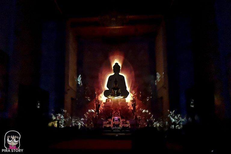 14 Bodhi Theater โพธิ เธียเตอร์ งานศิลปะดิจิทัล วัดสุทธิวราราม เจริญกรุง Pira Story BTS สะพานตากสิน