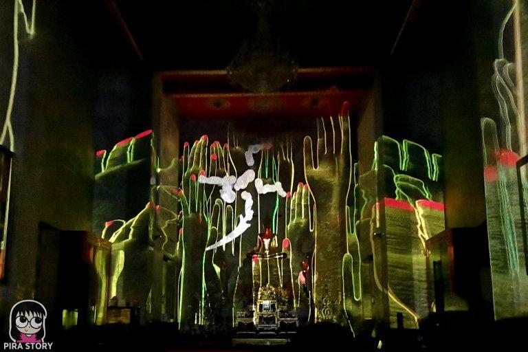 20 Bodhi Theater โพธิ เธียเตอร์ งานศิลปะดิจิทัล วัดสุทธิวราราม เจริญกรุง Pira Story BTS สะพานตากสิน