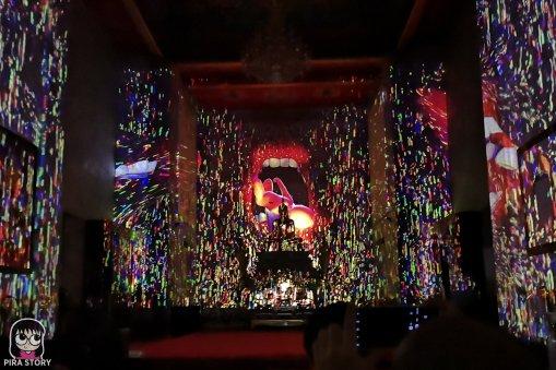 22 Bodhi Theater โพธิ เธียเตอร์ งานศิลปะดิจิทัล วัดสุทธิวราราม เจริญกรุง Pira Story BTS สะพานตากสิน