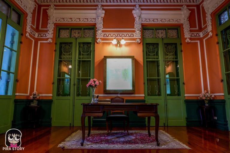 27 วังปารุสก์ วังปารุสกวัน ตำหนัก จิตรลดา รื่นรมย์ชมวัง พิพิธภัณฑ์ตำรวจ เที่ยว Pira Story