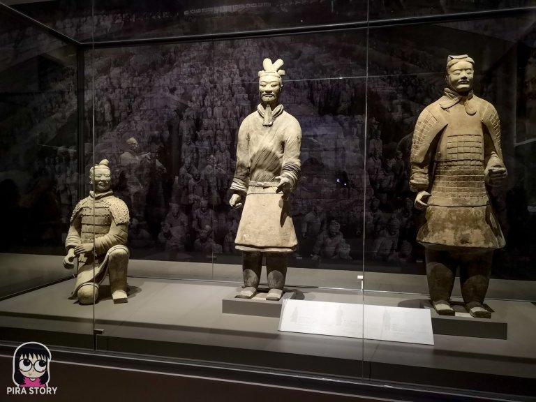 37 จิ๋นซีฮ่องเต้ ทหารดินเผา ประวัติศาสตร์จีน พิพิธภัณฑสถานแห่งชาติ พระนคร Pira Story National Museum Bangkok