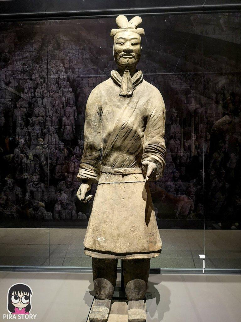 46 จิ๋นซีฮ่องเต้ ทหารดินเผา ประวัติศาสตร์จีน พิพิธภัณฑสถานแห่งชาติ พระนคร Pira Story National Museum Bangkok