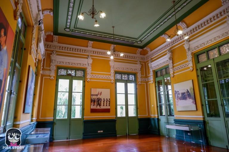 9 วังปารุสก์ วังปารุสกวัน ตำหนัก จิตรลดา รื่นรมย์ชมวัง พิพิธภัณฑ์ตำรวจ เที่ยว Pira Story