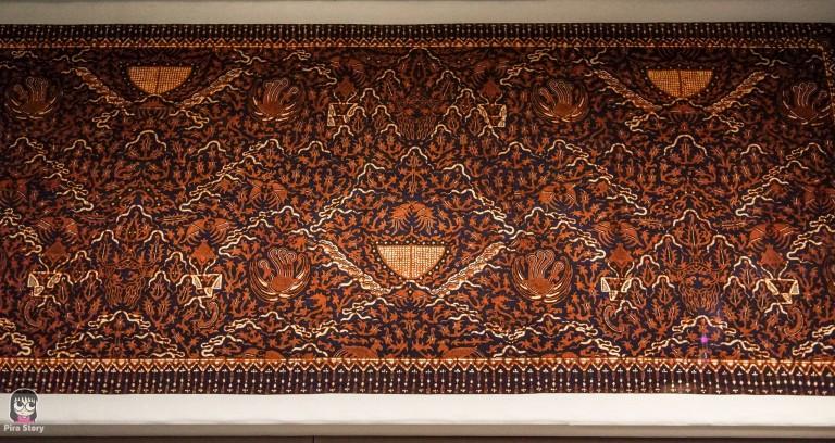 พิพิธภัณฑ์ผ้า ในสมเด็จพระนางเจ้าสิริกิติ์ พระบรมราชินีนาถ ผ้าบาติก