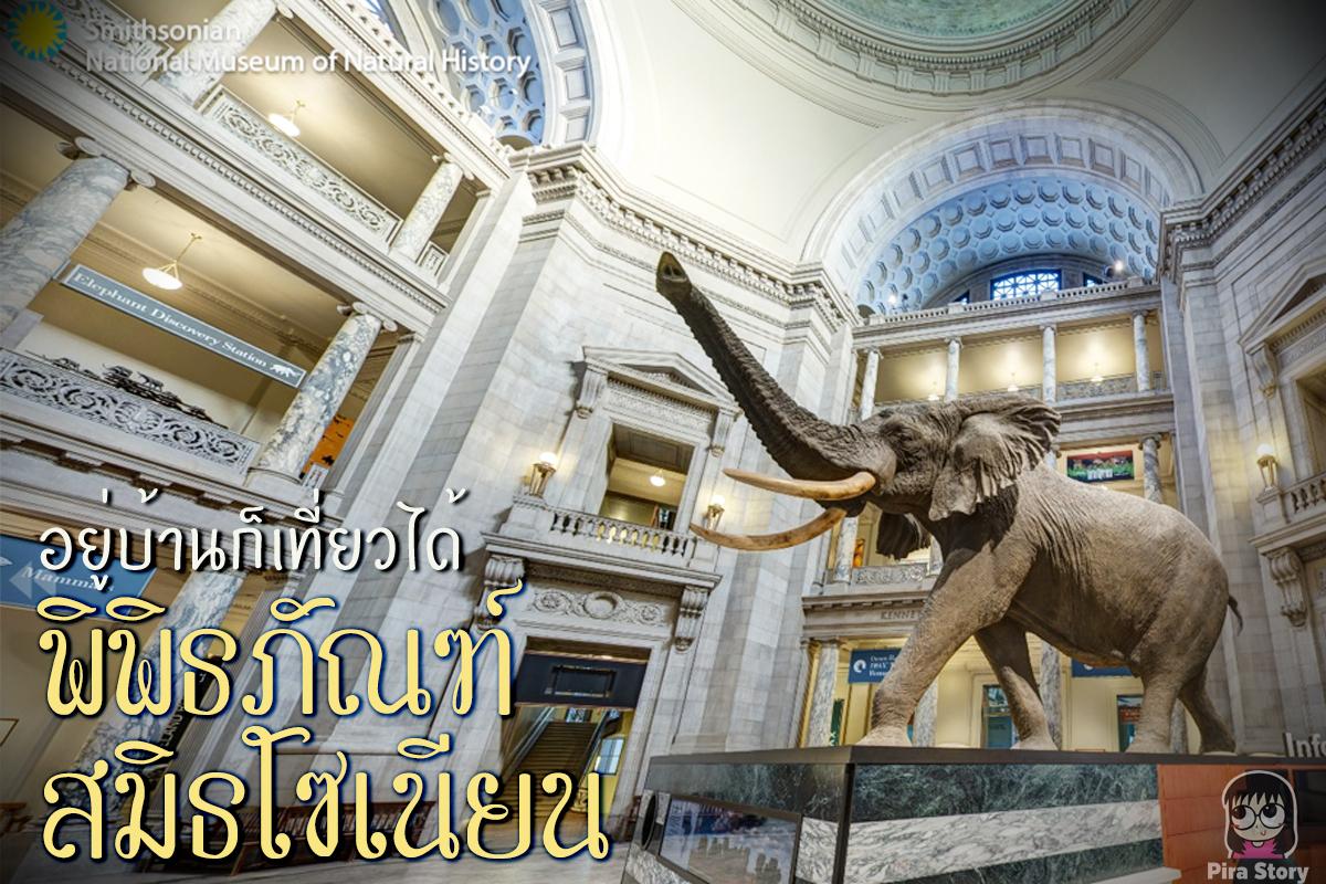 อยู่บ้าน ก็เที่ยวได้ เพราะ พิพิธภัณฑ์สมิธโซเนียน เปิดเว็บไซต์ให้เข้าชมพิพิธภัณฑ์แบบ Virtual Tour ฟรี!
