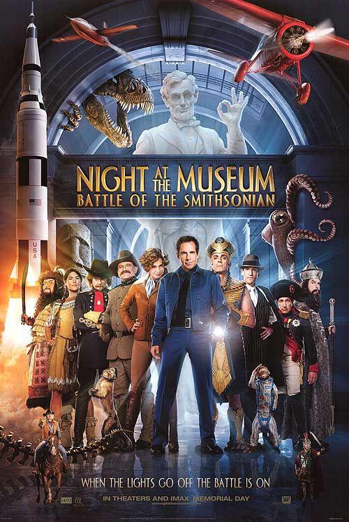 night-at-the-museum-battle-of-the-smithsonian2009 พิพิธภัณฑ์ ธรรมชาติวิทยาแห่งชาติ สมิธโซเนียน Smithsonian National Museum of Natural History virtual
