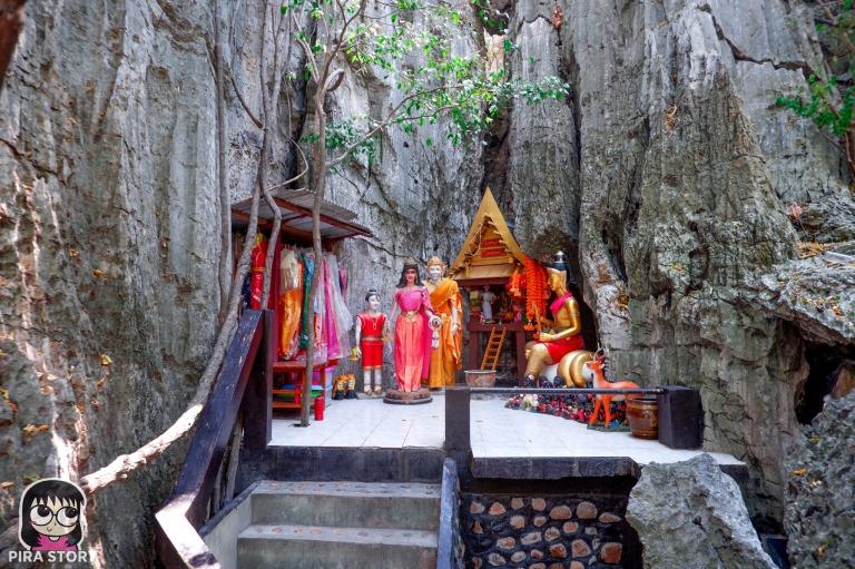 ศาล วนอุทยาน เขาพันธุรัต สังข์ทอง เพชรบุรี