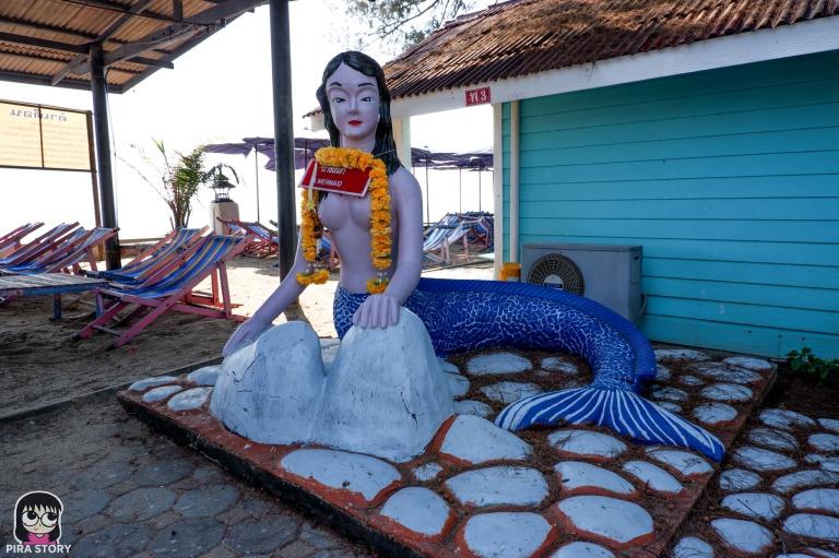 นางเงือก ผีเสื้อสมุทร สุนทรภู่ นางยักษ์ พระอภัยมณี หาดปึกเตียน เพชรบุรี pirastory