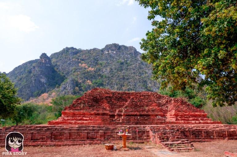 เจดีย์ โบราณสถาน ทุ่งเศรษฐี วนอุทยาน เขาพันธุรัต สังข์ทอง เพชรบุรีชะอำ pirastory เที่ยว