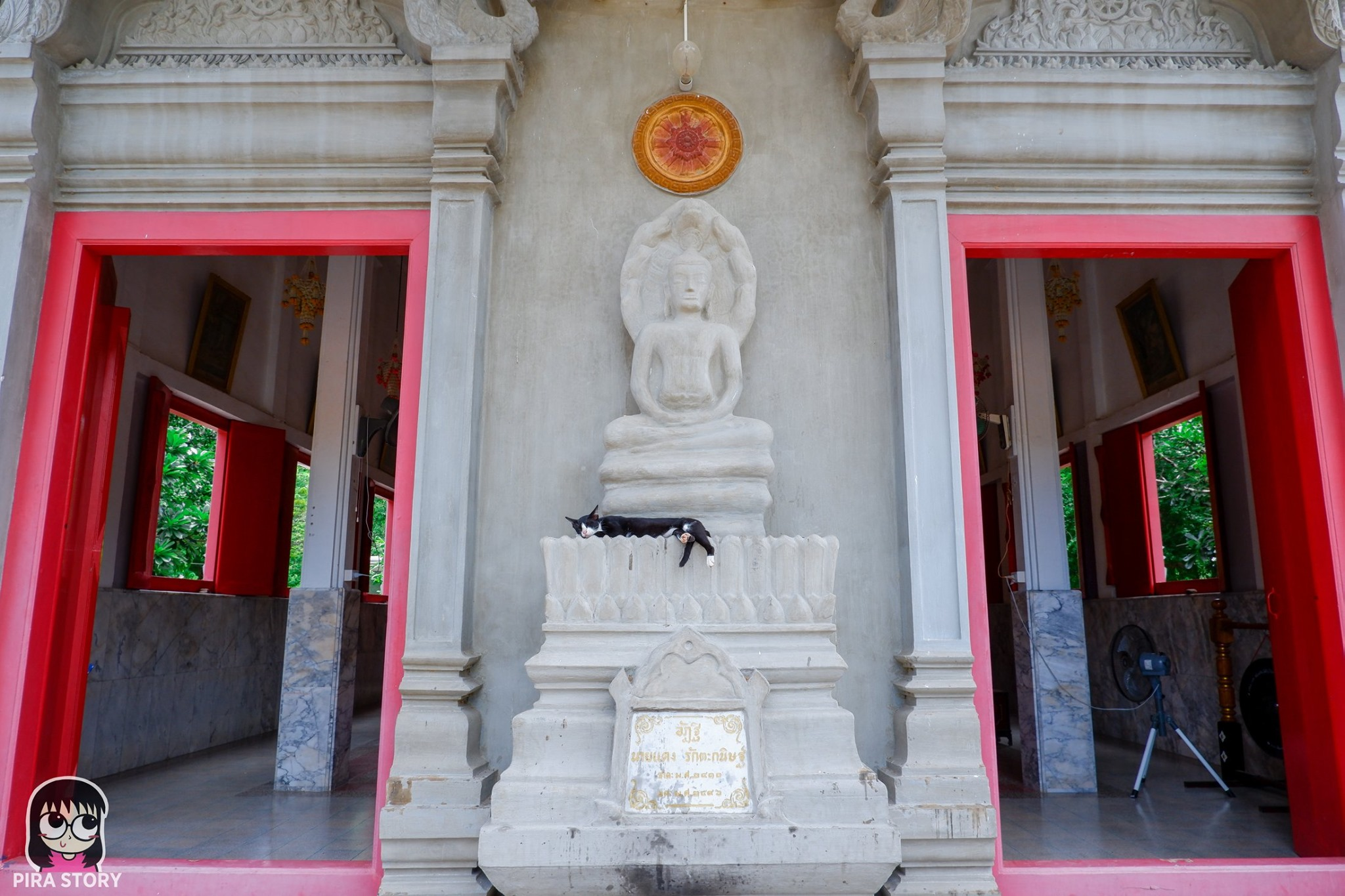 โบสถ์อินเดีย วัดเนรัญชราราม เพชรบุรี ชะอำ พระปิดตา ปิดหู ปิดจมูก ปิดปาก พระปิดทวาร ทั้ง 9 พระปิดทวารทั้งเก้า
