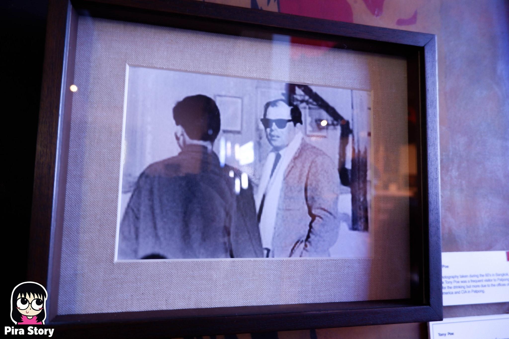 พิพิธภัณฑ์พัฒน์พงศ์ Patpong museum สถานบันเทิง บาร์ อะโกโก้ เต้นรูดเสา sex worker ค้าประเวณี โสเภณี โคมเขียว ผับ บาร์ 18+ พัฒน์พงศ์มิวเซียม pira story pirastory เที่ยวเนิร์ดๆ Tony Poe CIA ซีไอเอ