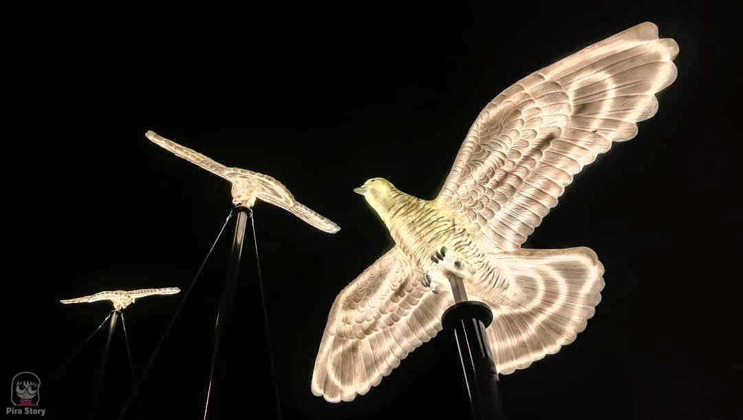 นกเขา นกเขาชวา แข่งนกเขา นกเขาชวาเสียงอาเซียน นกประจำจังหวัด สัตว์ประจำจังหวัด วงเวียนหอนาฬิกา เทศบาลนครยะลา yala 2021 ยะลา เที่ยวยะลา จังหวัดยะลา สามจังหวัดชายแดน ชายแดนใต้ ใต้สุดสยาม ไฟประดับ ปีใหม่ ถ่ายรูปไฟ ถ่ายรูปปีใหม่ ถ่ายรูปไฟคริสมาสต์