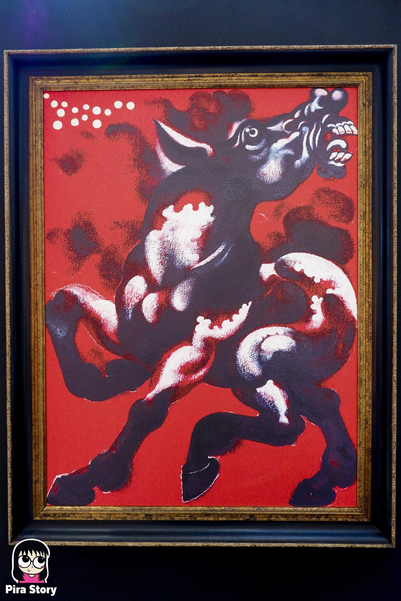 Immersive Art of Thawan Duchanee งานศิลปะ ถวัลย์ ดัชนี ไอคอนสยาม iconsiam นิทรรศการ AR ightning of the Soul โดม 360 องศา Immersive 360 Fulldome